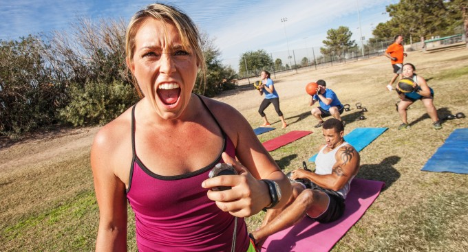 bootcamp, vægttab, personlig træning