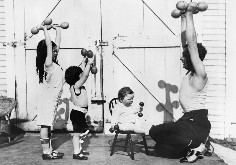 børn, styrketræning, vægte, kursus